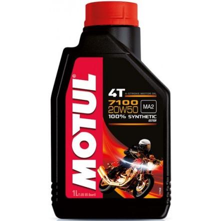 Масло MOTUL 7100 4T SAE 20W50 (1L)