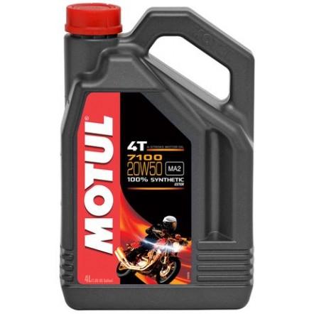 Масло MOTUL 7100 4T SAE 20W50 (4L)