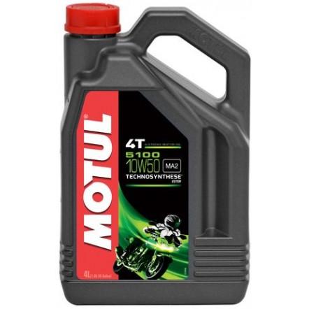 Масло MOTUL 5100 4T SAE 10W50 (4L)