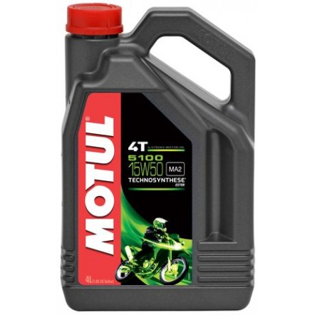 Масло MOTUL 5100 4T SAE 15W50 (4L)