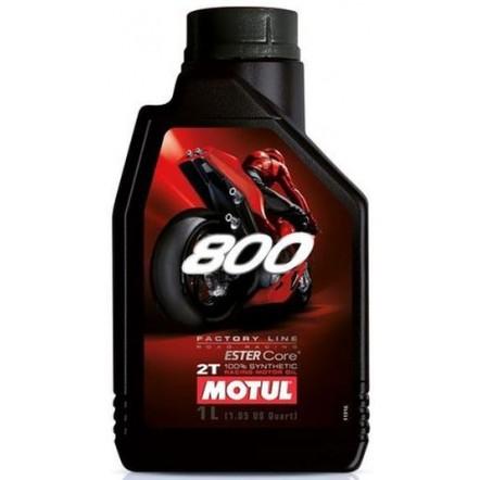 Масло MOTUL 800 2T Factory Line Road Racing (1L)