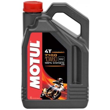 Масло MOTUL 7100 4T SAE 10W60 (4L)
