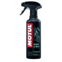 Средство для мытья MOTUL E1 Wash&Wax (400ml)