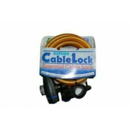 Защитный трос OXFORD Cable Lock 1.8m GOLD